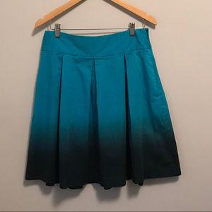 Express Blue Ombre Skirt